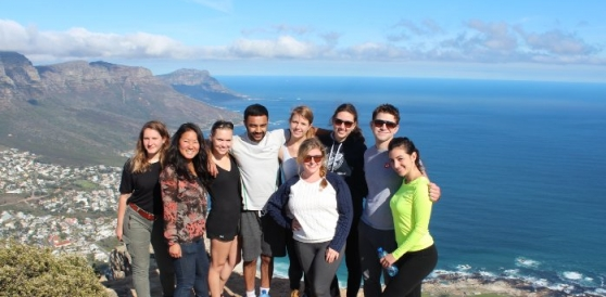 Ayden and Friends Enjoying Cape Town
